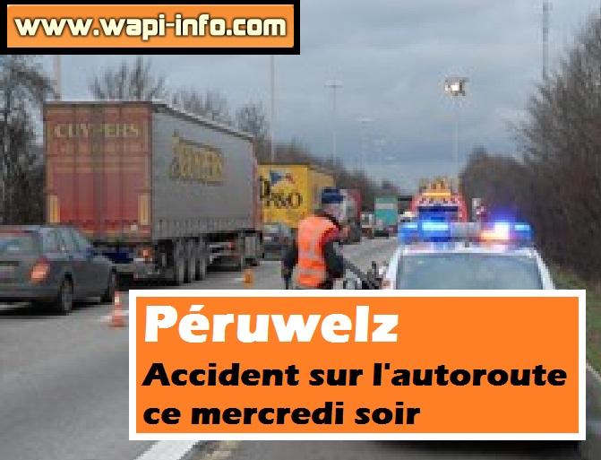 accident autoroute mercredi soir