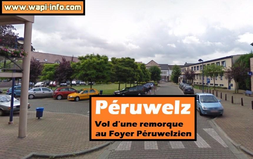 peruwelz vol remorque