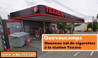Quevaucamps : nouveau vol de cigarettes à la station Texaco