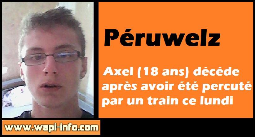 Axel deces peruwelz