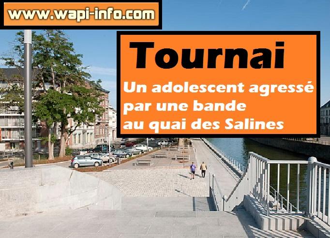 Tournai agression bande