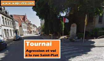 Tournai : agression et vol à la rue Saint-Piat