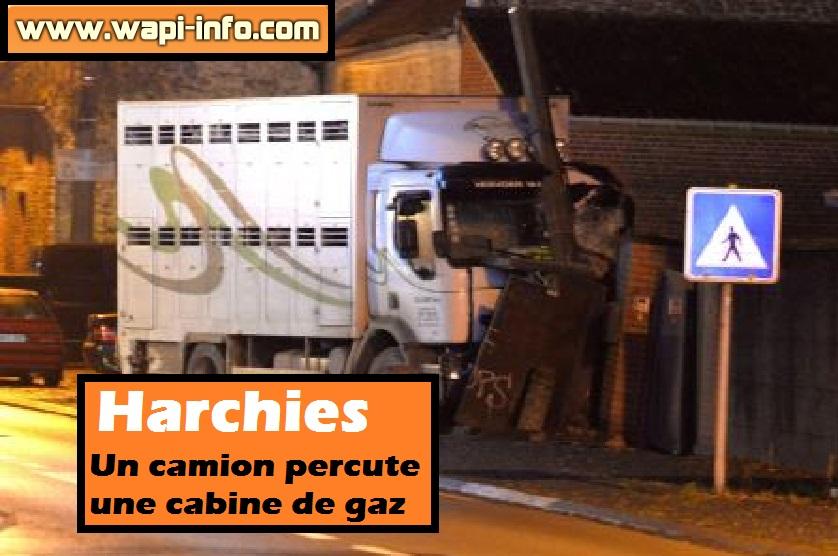 harchies camion gaz