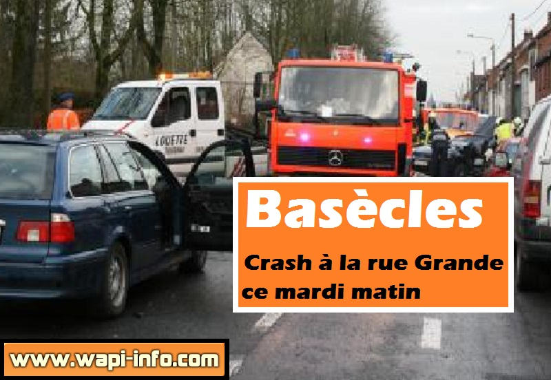 Basecles accident rue grande