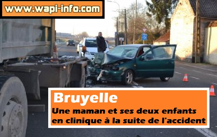 Bruyelle accident camion