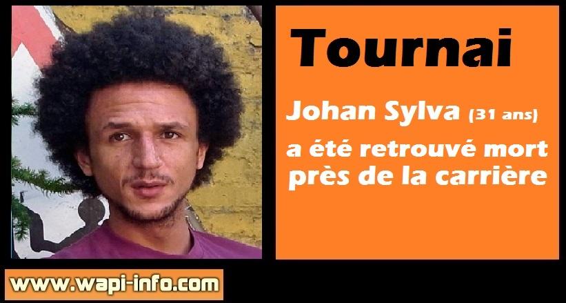 Johan Sylva deces mort tournai