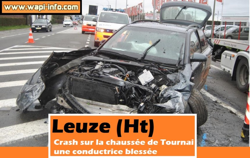 Leuze crash ch tournai fevrier 2016