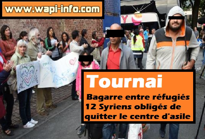 Tournai centre asile expulsion