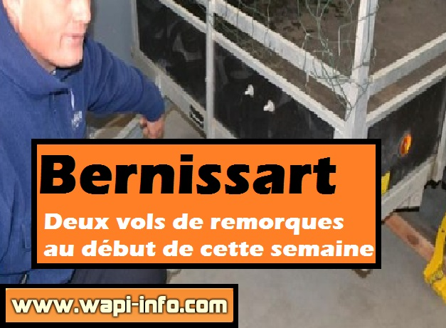 bernissart vols remorques
