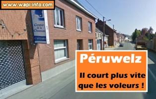 Péruwelz : il court plus vite que les voleurs !