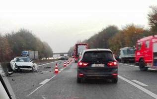 Carambolage et ralentissements sur l'autoroute A8 Tournai - Enghien