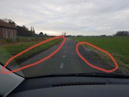 Péruwelz : exaspéré Loic réclame des aménagements routiers via les réseaux sociaux