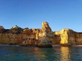 Algave caves boat tour - King Kong