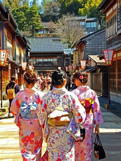 Kanazawa Old Town - Japan