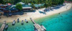 Tuna Bay island resort perhentians islands besar malaysia