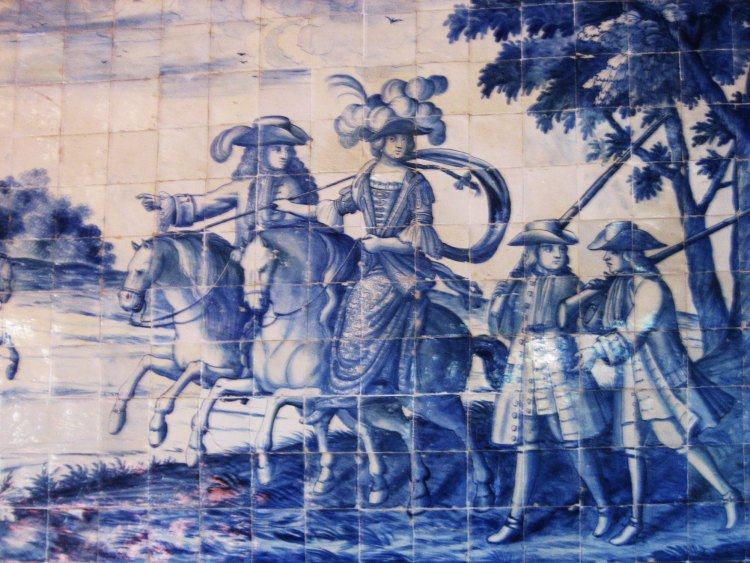 Azulejos Lisbon, Portugal
