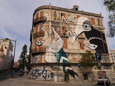 Street art Crono project Lisbon, Portugal