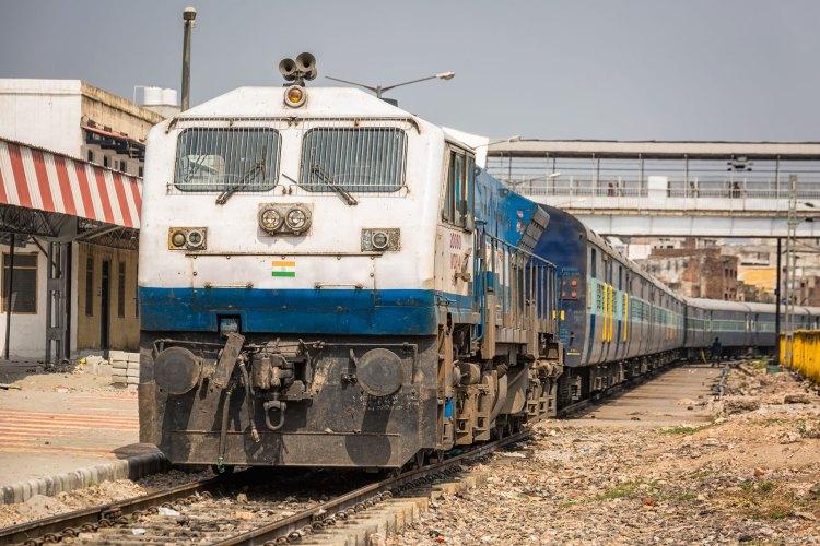 India Agra Train Station