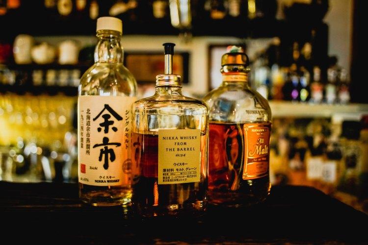 Alcohol in Japan bar