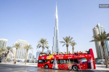 hop-on hop-off bus Dubai