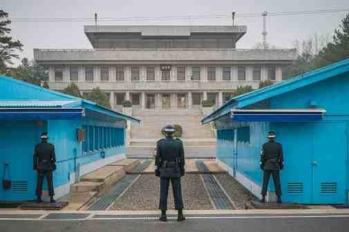 JSA Panmunjom, South_Korea, DMZ