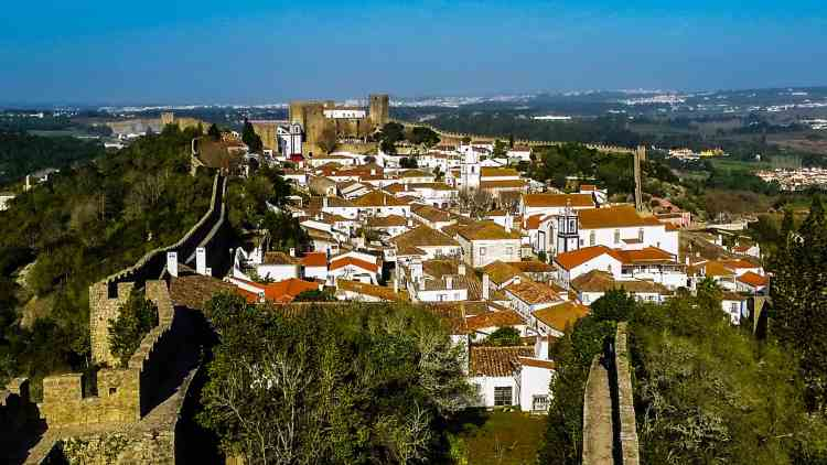 Obidos Medieval town, Portugal