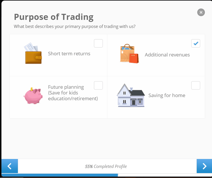 Purpose of trading