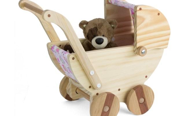 Wooden Toy Pram Warawood Shed