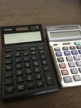 税理士が使う電卓はどんなもの? 税理士試験でオススメの電卓はあるの?