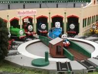 子供はトーマスが好き。大人もテンションが上がる鉄道の模型展。