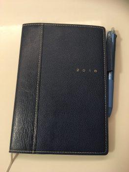 手帳を使っての業務管理。半年が経過しました。