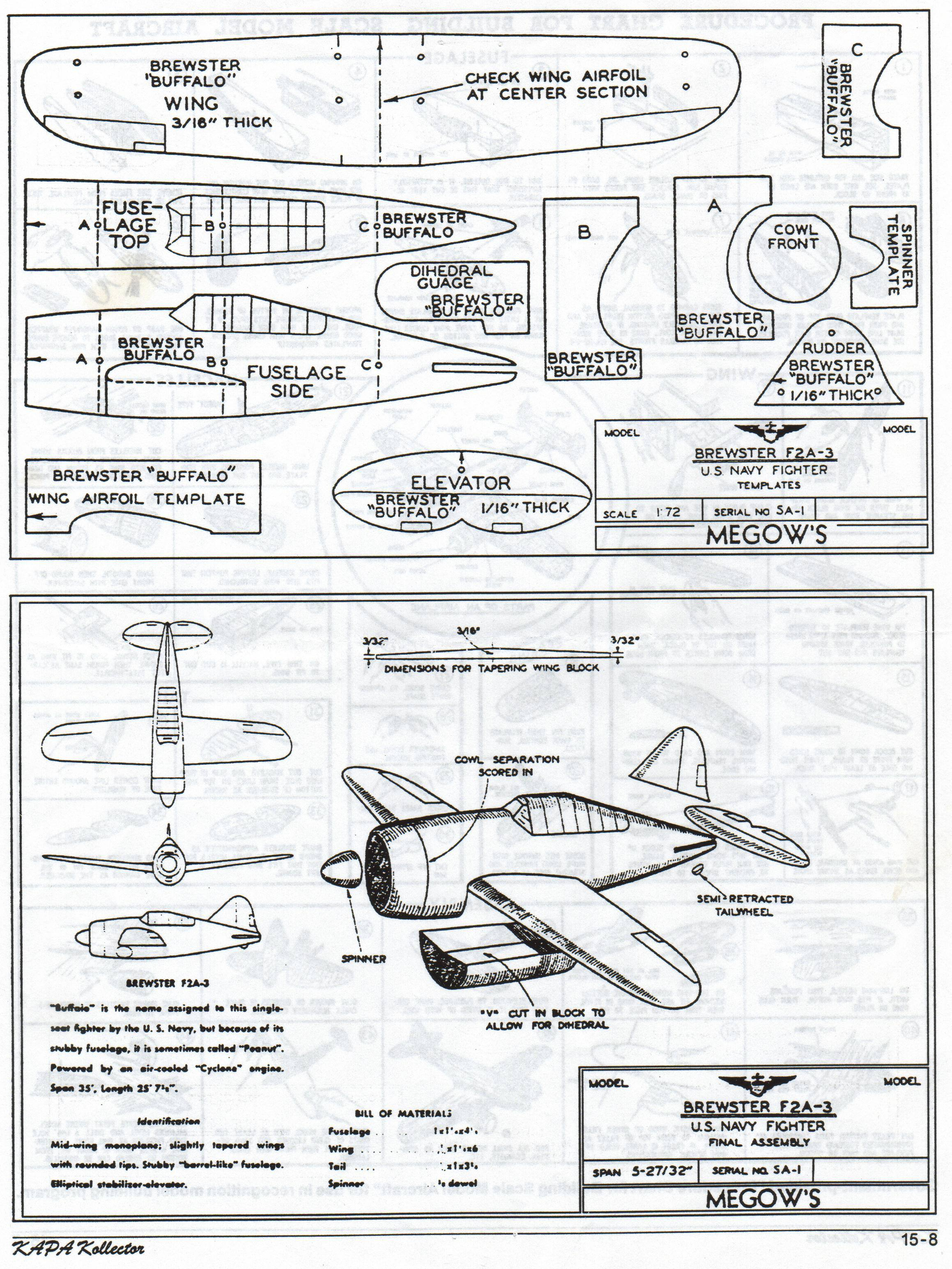 model wood airplane plans