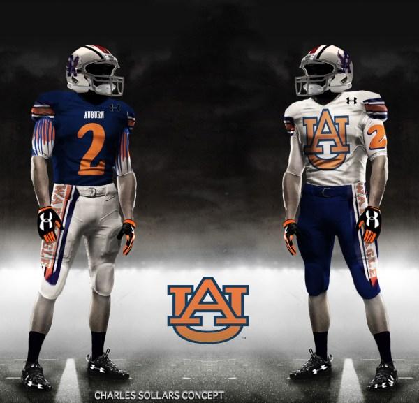 3895a04e370 Auburn Football Uniform Ideas - Year of Clean Water