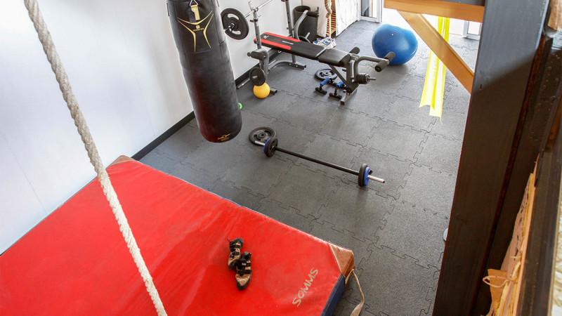 revetements de sol pour salle de gym a