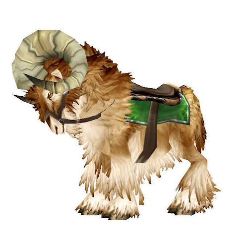 warcraft mounts brown ram