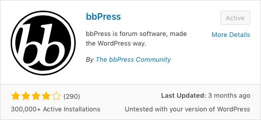 Add bbPress Forum 3