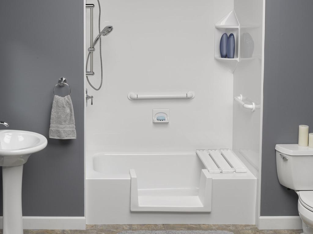 Senior Housing Bathroom Remodeling  Ward Enterprises
