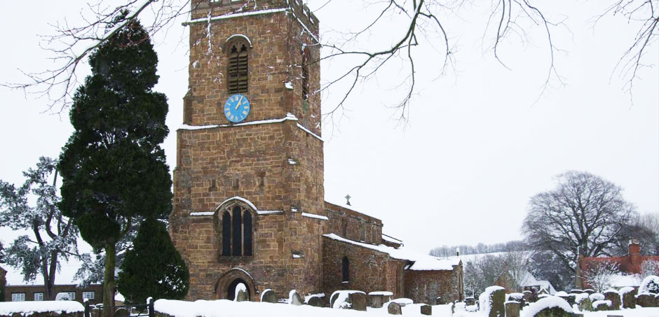 St Mary Magdalene in Winter