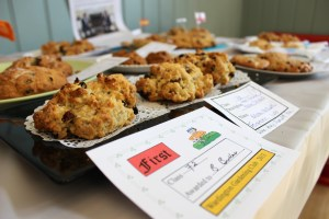 Winner of the hotly contested (Men Only) Rock Cake Baking Class