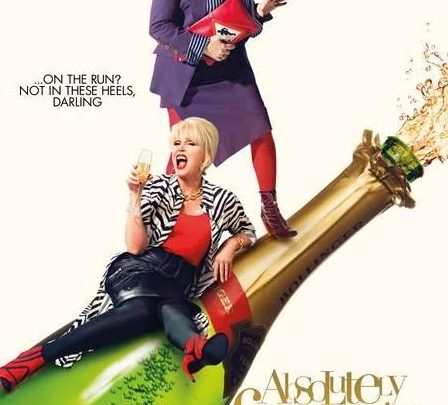 Remember to book your tickets for this Friday's Ab Fab the Movie Screening