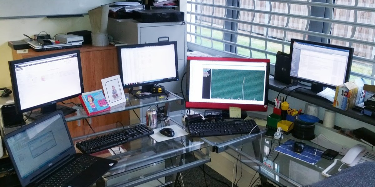 Latest Desk Layout!