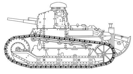 L5 (Fiat-3000) Light Tank