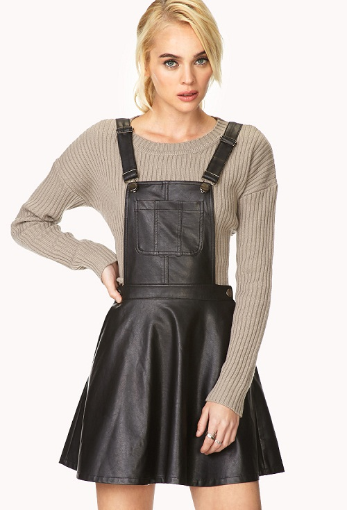 Black Overall Dress Wardrobe Mag
