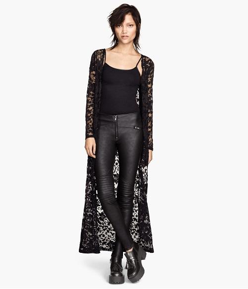 Black Lace Cardigan  WardrobeMagcom