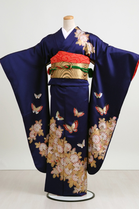 Blue Kimono  Wardrobe Mag