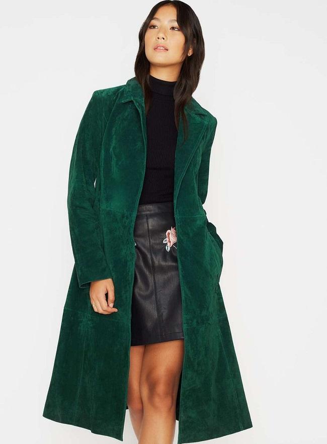 Green Trench Coat  Wardrobe Mag
