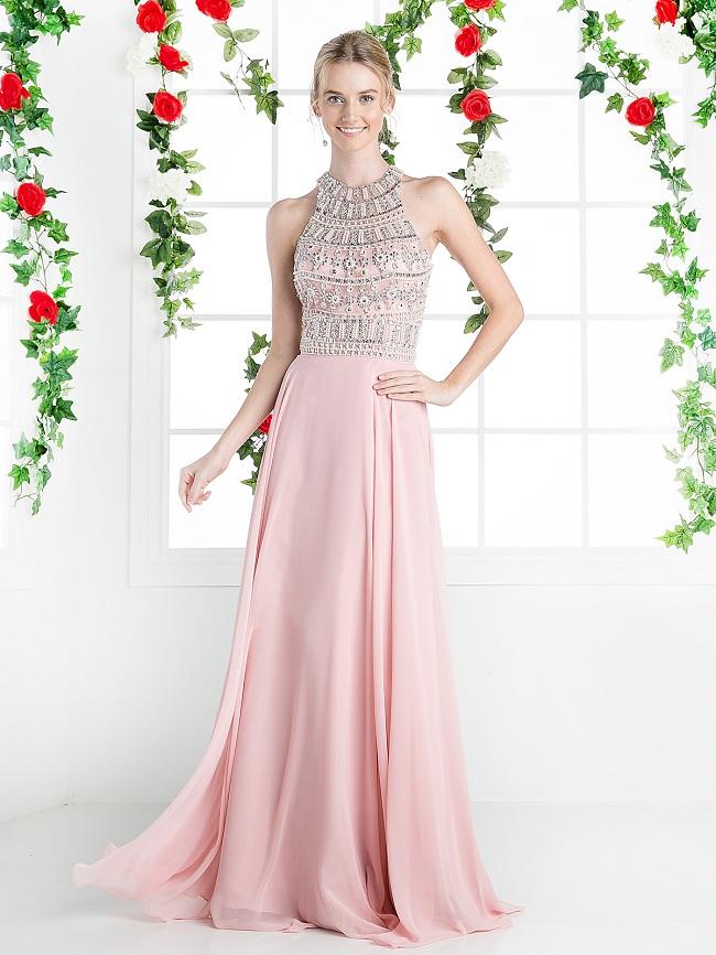 Halter Top Evening Gowns  Wardrobe Mag
