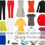 Ask Allie: Young Professional Summer Capsule Wardrobe