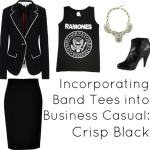 Ask Allie: Band Tees and Business Casual