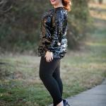 What I Wore: Cozy Sparkle